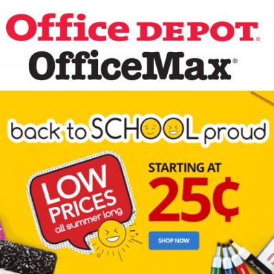 Office Depot Back to School Deals