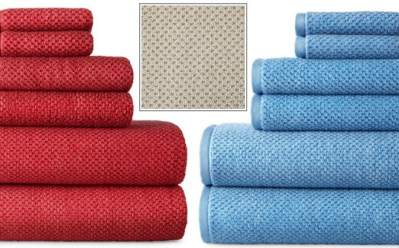 JCPenney : Quick Dri Textured Solid Bath Towels for Just $5.94 (Reg : $14)