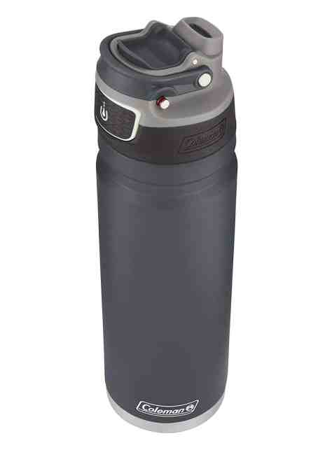 Amazon: Coleman FreeFlow AUTOSEAL Insulated Stainless Steel Water Bottle, Slate, 24 oz.