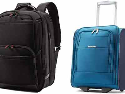 *HOT* Samsonite Backpacks & Luggage for Up to 50% Off + FREE Shipping