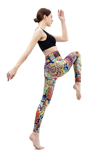 Amazon : High Waisted Leggings Just $4.76 W/Code (Reg : $14.89) (As of 9/21/2019 10.15 PM CDT)
