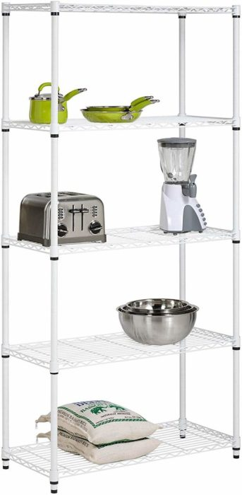 Amazon: Honey-Can-Do 5-Tier Adjustable Shelving System ONLY $36.48 Shipped (reg. $99.99)