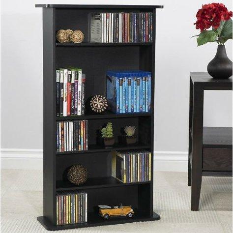 Atlantic Drawbridge Wood Media Storage Shelf for just $20 at Walmart