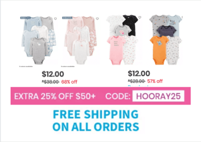 Carter's : Bodysuits Sale!!