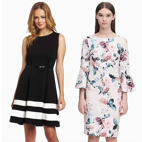 Up to 70% Off Calvin Klein Dresses + Extra 20% Off