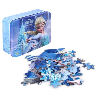 Amazon : Disney Frozen Puzzles in a Metal Box 100 Piece Jigsaw Puzzle Just $6.70 W/Code (Reg : $15.99) (As of 9/16/2019 2.02 PM CDT)