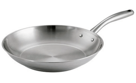 Tramontina Stainless Steel Gourmet Tri-Ply Base 12″ Frying Pan for $15.99 (Reg $29.86)