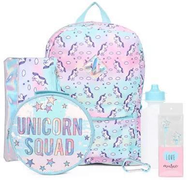 Macy's : Girls 5-Pc. Unicorn Backpack & Accessories Set Just $7.79 W/Code (Reg : 11.13)