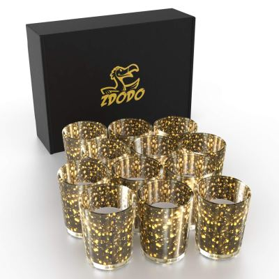 Amazon : Gold Votive Candle Holder, Set of 12 Just $8.06 W/Code + 60% OFF COUPON (Reg : $26.87) (As of 9/21/2019 9.42 AM CDT)