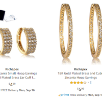 Amazon : JEWELRY AS LOW AS $2.99! W/Code (Reg : $2.99-66.99) (As of 9/14/2019 9.50 PM CDT)