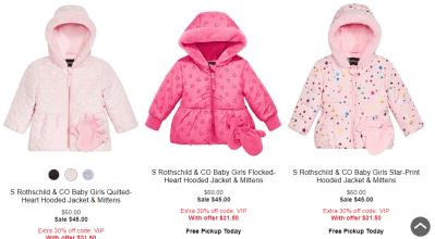 Macy's : Kids Winter Coats On Sale!