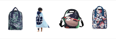 Amazon : Kid Bath Towel, Lunch Bag Tote, Girls Adults Backpack Just $11.90-$19.79 W/Code (Reg : $19.99-$32.99) (As of 9/16/2019 10.45 PM CDT)
