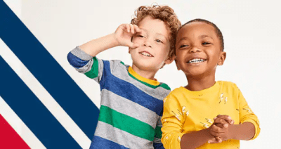 Old Navy Toddler Apparel Starting at JUST From $1.11 W/25% Off Code (Reg : $5) – Today Only!
