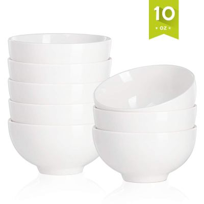 Amazon : 8 Pack Porcelain Bowls 10 Ounce Just $12.97 W/Code (Reg : $25.95) (As of 9/16/2019 1.14 AM CDT)