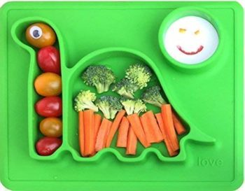 Amazon: Silicone Placemat Toddler Plates ONLY $6 (reg. $14)