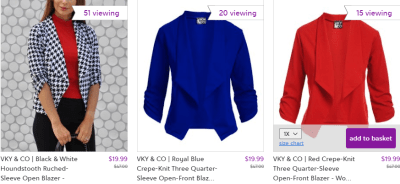 Zulily : Sophisticated Blazers : S-3X $19.99 (Reg : $47)!!
