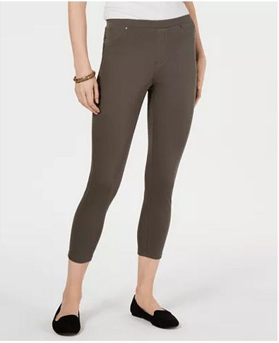 Twill Capri Leggings, Created for Macy's for $9.93