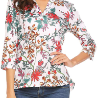 Amazon : Women's Chiffon Tops Just $8.40 - $10.40 W/Code (Reg : $25.99) (As of 9/16/2019 10.40 AM CDT)
