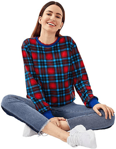 Amazon : Women's Long Sleeve Letter and Floral Print Casual Loose Sweatshirt Just $4.99 W/Code (Reg : $19.96) (As of 9/16/2019 10.15 PM CDT)