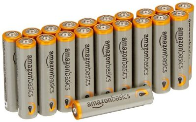 AmazonBasics 20-Pack AAA Batteries for JUST $4.22 at Amazon – 21¢ per Battery!