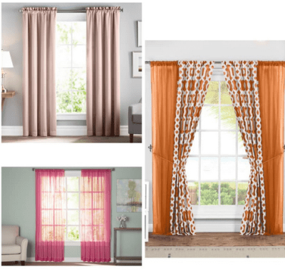 Budget Friendly Curtains Starts from $6.69
