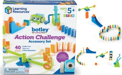 Walmart : Coding Robot Action Challenge Accessory Set, 41 Pieces Just $9.97 (Reg : $20.55)