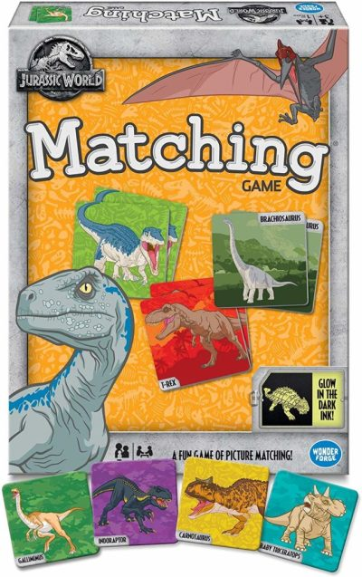 Amazon: Wonder Forge Jurassic World Matching Game ONLY $5.97 (reg. $9.99)