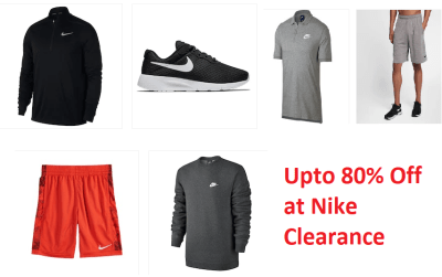 Upto 80% Off Nike Clearnace at Kohl's
