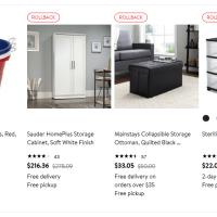 Walmart : Up to 50% Off on storage & organization items!