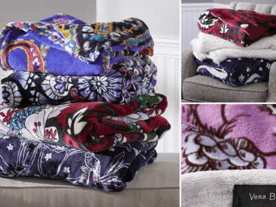 Vera Bradley : Throw Blankets Just $17 + FREE Shipping (Reg : $55)