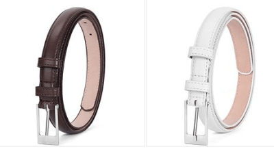 Women's Leather Belts for $4.80