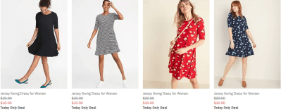 Old Navy : Dresses From $10!
