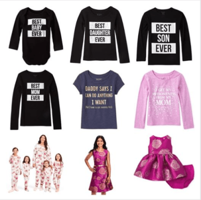 The Children's Place : Get 40-50% off Mommy and Me apparel !