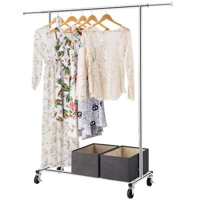Amazon : Heavy Duty Garment Rack Just $24.99 W/Code (Reg : $49.99) (As of 10/17/2019 2.18 PM CDT)