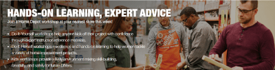 Home Depot Kids Workshop : Free American Eagle (11/2)