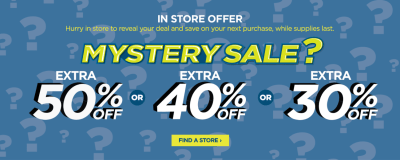 JCPenney Mystery Coupon – Score Up to 50% Off Your Purchase!