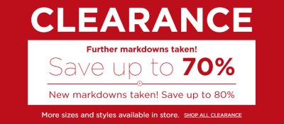 Kohl's : Up To 90% Off CCLEARANCE ITEMS W/Code!!