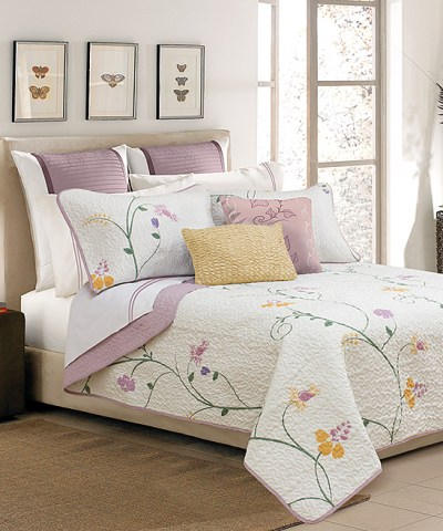 Zulily : Lilac & White Serenade Quilt Set Just $22.99-$24.99 (Reg : $59 - $85)