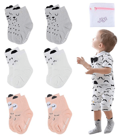 Amazon : Non-Slip Cotton With Grip-Crew Socks Just $5.99 W/Code (Reg : $11.99) (As of 10/12/2019 3.46 PM CDT)