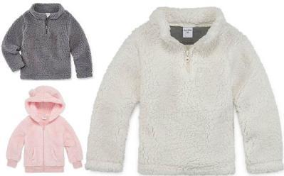 JCPenney : Okie Dokie Sherpa Boys Long Sleeve Pullover Just $6.39 W/Code (Reg : $17)