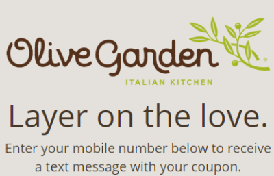 Olive Garden : $4 Off Classic Favorites Entree Coupon!!