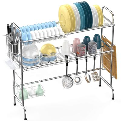 Amazon : Over the Sink Dish Drying Rack Just $10.19 W/Code (Reg : $66.99) (As of 10/12/2019 3.15 PM CDT)