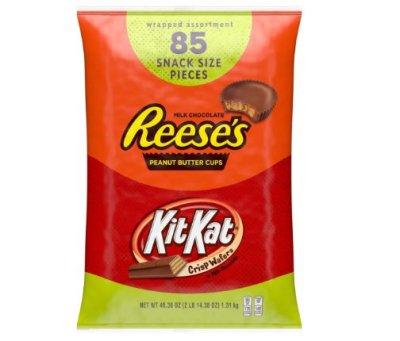 85 Pcs REESE'S and KIT KAT Bulk for $10.65 Shipped! (Reg. Price $14.18)