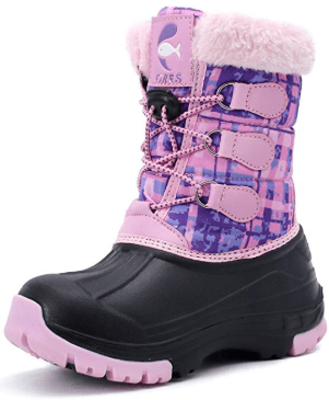 Amazon : Snow Boots for Kids Just $17.99 W/Code (Reg : $20.99) (As of 10/12/2019 6.05 PM CDT)