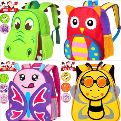 Amazon : **70% Off ** Toddler Backpack Just 6.89 W/Code (Reg : $22.99) (As of 10/23/2019 5.35 AM CDT)