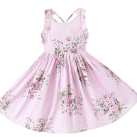 Amazon : Vintage Girl Floral Print Casual Dress Just $6 W/Code (Reg : $19.99) (As of 10/21/2019 7.36 AM CDT)