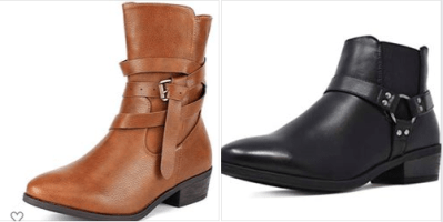 Amazon : Women's Chelsea Ankle Booties Just $14.99 W/Code (Reg : $29.99) (As of 10/12/2019 12.30 PM CDT)