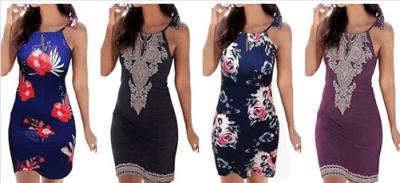 Amazon : Women's Summer Boho Print Halter Dress Just $7.59 W/Code + 10% Off Coupon (Reg : $18.99) (As of 10/12/2019 5.50 PM CDT)