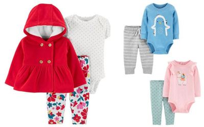 JCPenney : Carter's 2-Piece Sets Just $7 + FREE Pickup at (Reg : $22)