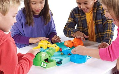 For a limited time, visit Amazon and score Hasbro Games Hungry Hippos for ONLY $9.87 (regularly $21.99)! Shipping is free with Amazon Prime or on orders over $25. This Classic Hungry Hippos game has 4 hippo heads and bodies plus marbles for them to chomp. Take a look here!